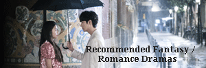 recommended fantasy romance kdramas