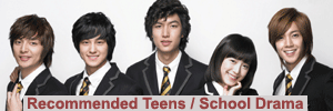 recommended teens school kdramas