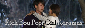 rich boy poor girl kdramas